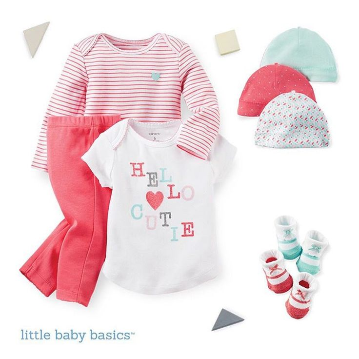 Looking for a gift? Pre-paired gift bundles are waiting for you! carters.com/babybasics #littlebabybasics #lovecarters