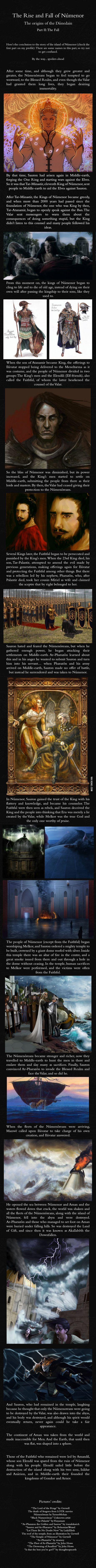Númenor and the Dúnedain: Part II - J.R.R. Tolkien's mythology
