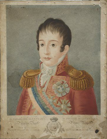Emperor Pedro I (Peter I) of Brazil as a child.
