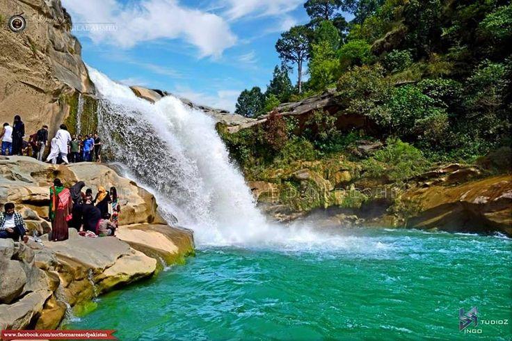 Gul Pur Waterfall Azad Kashmir Pakistan Beautiful Pakistan Pinterest Kashmir Pakistan