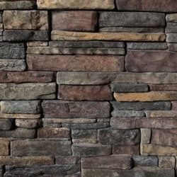 Kodiak Mountain Stone Manufactured Stone Veneer - Ready Stack Stone Panels Collection Chardonnay / Ready Stack / 120 Sq Ft Crate
