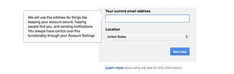Create new email address name