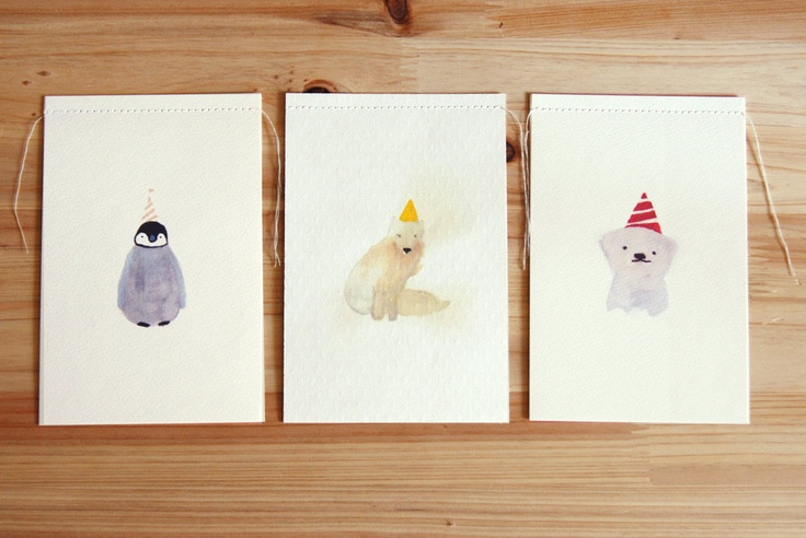 Card set from Breezy Saturday (Etsy)