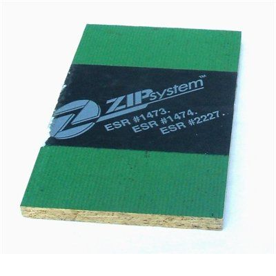 ZIP System 7/16 CAT PS2-10 Tongue and Groove OSB Sheathing, Application as 4 x 8 | Lowe's for Pros