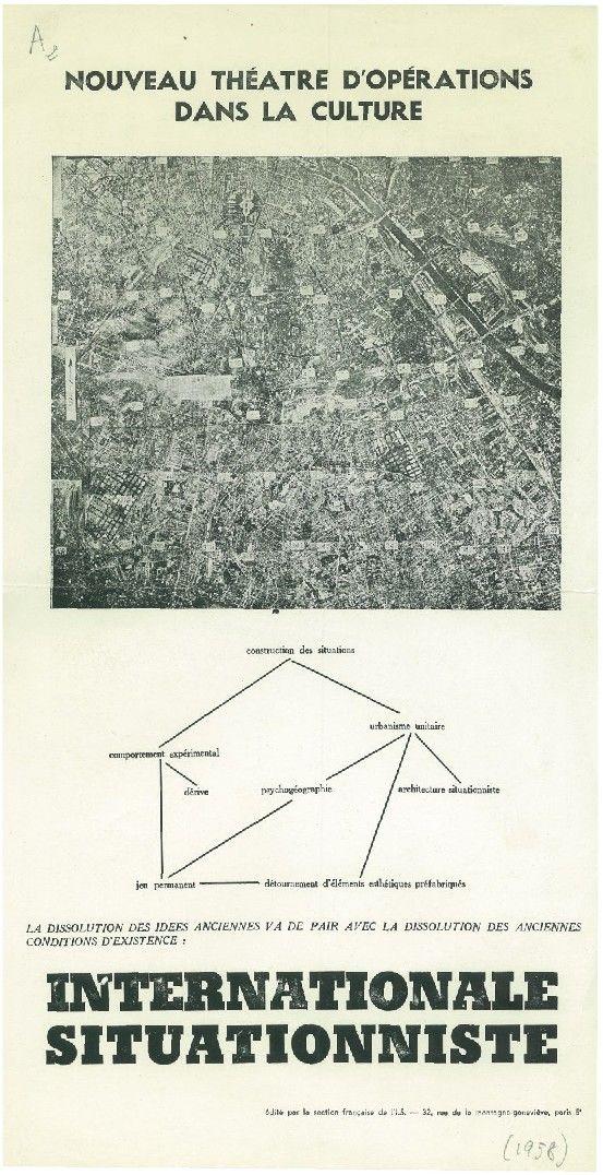 Tract de la section française de l'Internationale situationniste - 1958