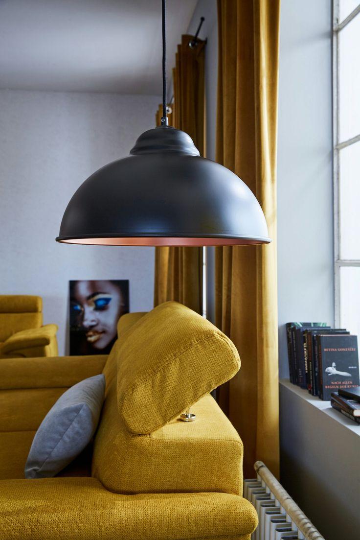 Pendelleuchte, 1 flammig für 59,99€. Moderne Pendelleuchte, In zwei Farbvarianten, Passende Leuchtmittel E27, Energieeffizienzklasse A++ bis E bei OTTO