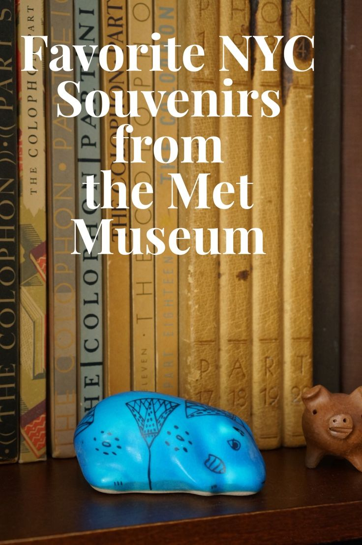 As a New York City local who lived two blocks from the Metropolitan Museum of Art, I share my insider secrets to finding great only in NYC gifts and travel souvenirs-- like William, the 4000 year old mascot at the Met. NYC.