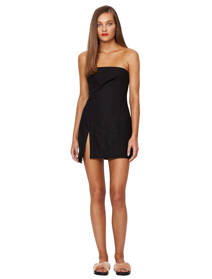 bec and bridge - Martine Mini Dress - Black