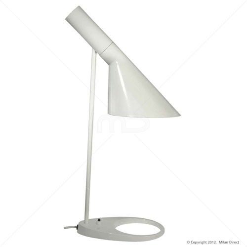 AJ Table Lamp - Arne Jacobsen Reproduction - White