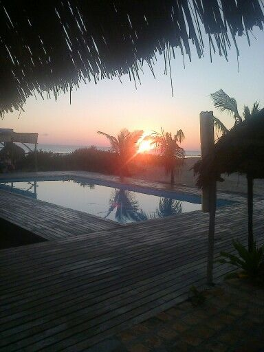 Sunrise from my room!