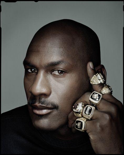 Michael Jordan --- by Dan Winters // My favorite basketball player of all time! #TheGloryThatWasChicagoBulls #NumberTwentyThree