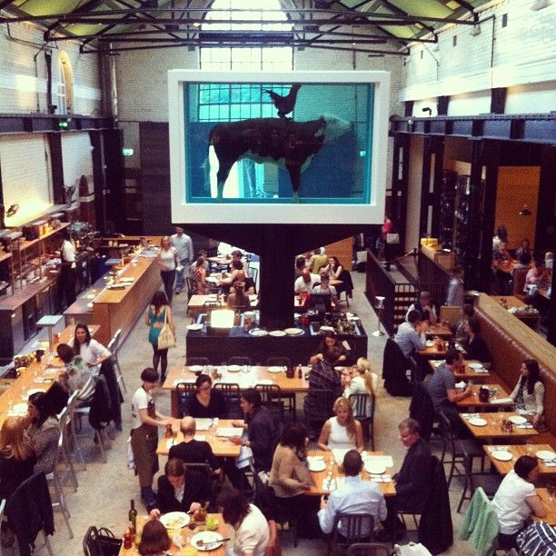 Steak and Chicken at Tramshed, London / photo by HUH. magazine