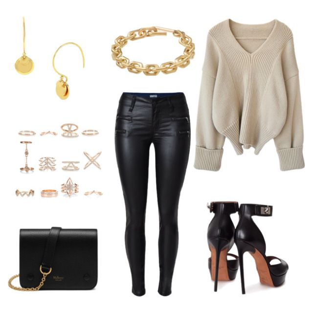 Chic with touches of gold