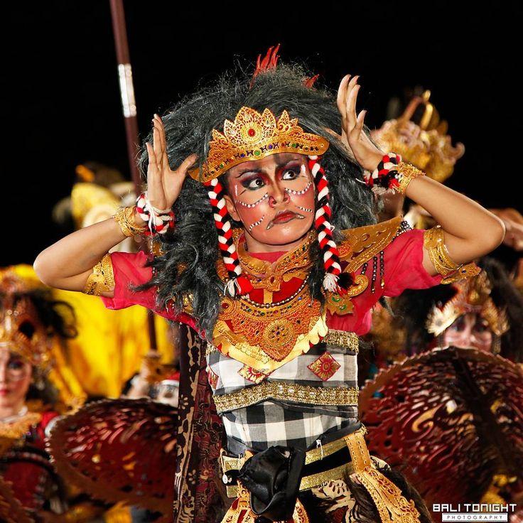 """Dancing #demons of Nyepi.  Photo by @balitonight #BaliTonight  #ngrupuk #parade #festival #dance #ceremony #nyepi #silenceday #culture #traditional #Hindu…"""