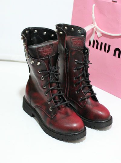 2013 autumn and winter fashion female boots martin british style punk rivet motorcycle vintage boots skull-inBoots from Shoes on Aliexpress....