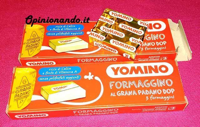 Yomino Formaggino al Grana Padano DOP scatola - #recensione #Opinionando