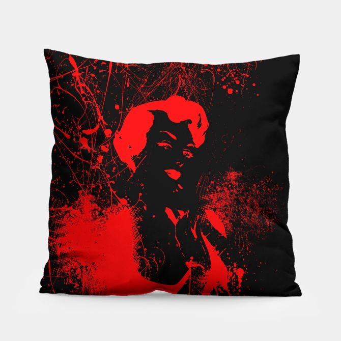 A study in Scarlet Pillow