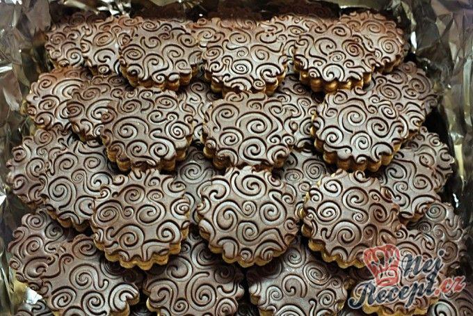 Ornamentky - kolečka s čokoládou