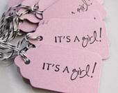 its a girl name tags