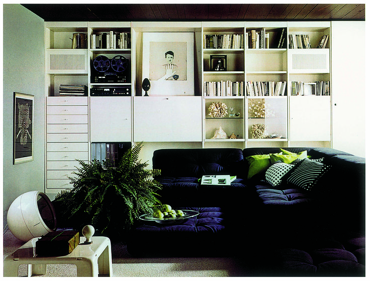 Roche Bobois Interlübke bookshelves