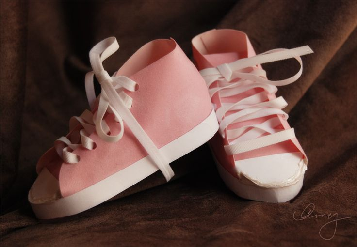I'm gonna make these in blue for a boy baby shower....