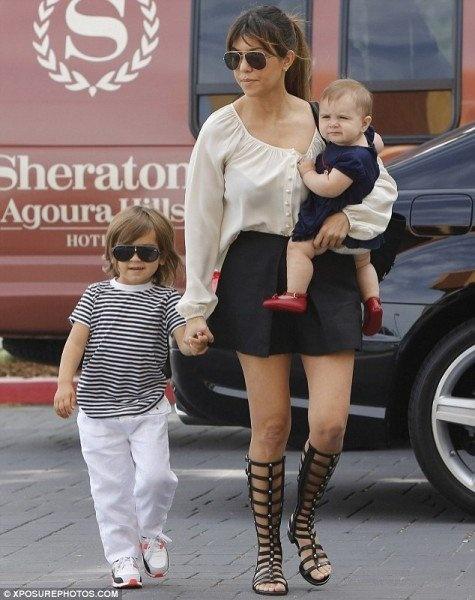 Kourtney Kardashian  Heading to church in Los Angeles, CA April 7, 2013