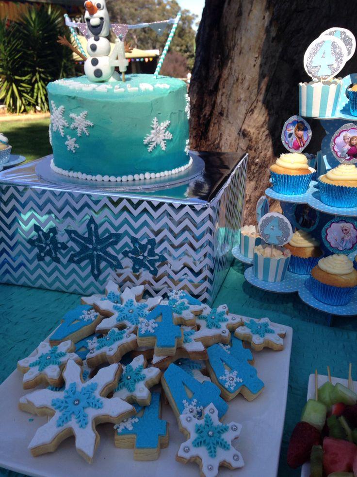 Frozen inspired sugar cookies