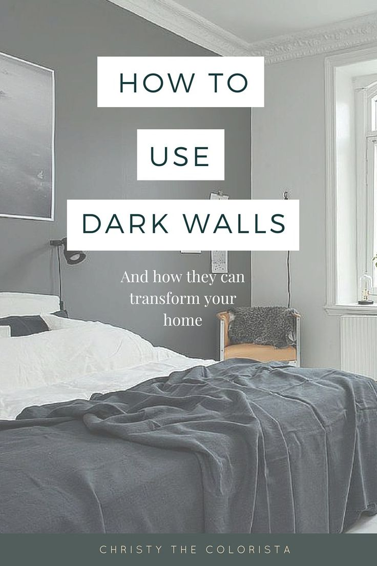 A Super Simple Guide On Decorating With Dark Walls Plus The Best BENJAMIN MOORE DARK