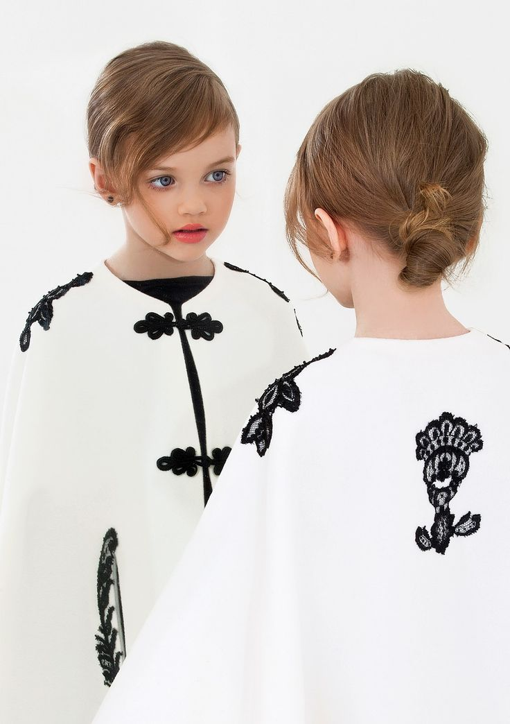 Noelle Vlasov ,wool cape with black lace applications,romanian folklore inspired,beautiful