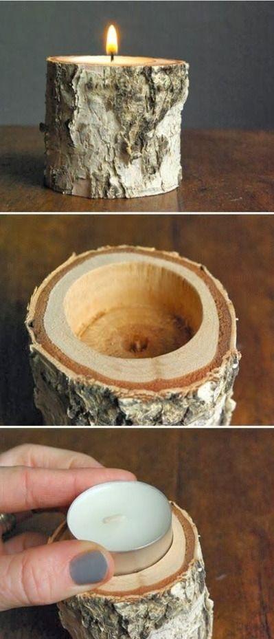 DIY .... Beware if u use cedar go ahead and remove bark! It gets on everything!!!