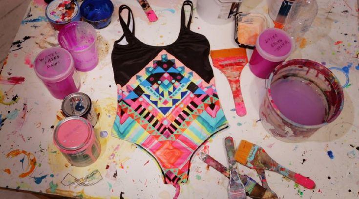 Billabong x Maya Hayuk Spring Summer 2013 Bikini Collection