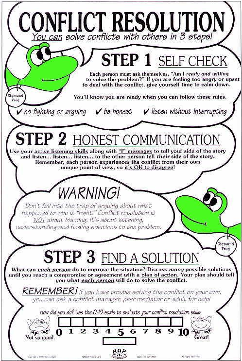 Printables Conflict Resolution Worksheets For Kids 1000 ideas about conflict resolution activities on pinterest middle school advisory 101 3 steps for resolution