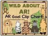Wild About AR! Jungle Safari AR Goal Clip Chart  product from overthemoonbow TeachersNotebook.com{$4.00}