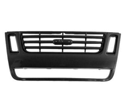 2007-2010 Ford Explorer Grille Black