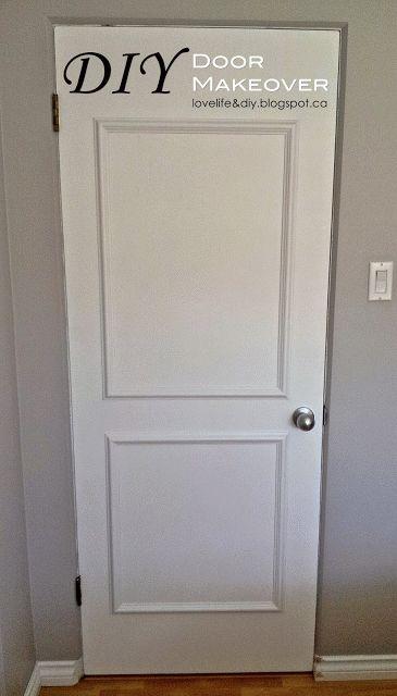 LoveLife&DIY: DIY Door Makeover