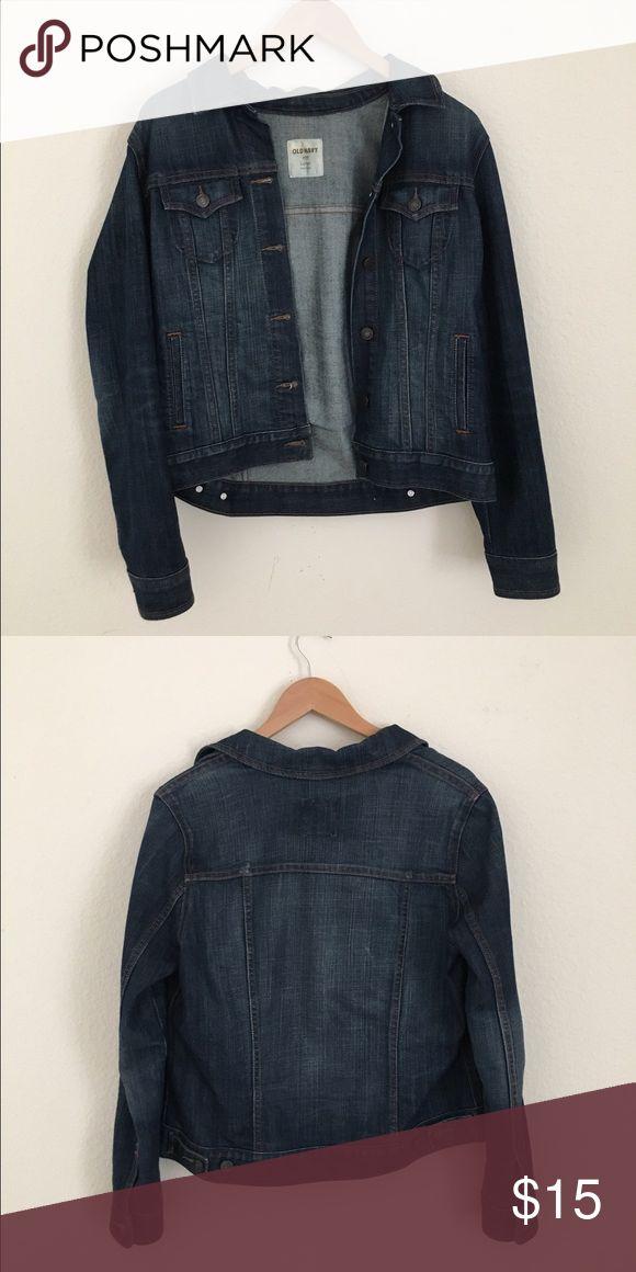 Old Navy Jean Jacket Old navy jean jacket. Lightly worn. Old Navy Jackets & Coats Jean Jackets