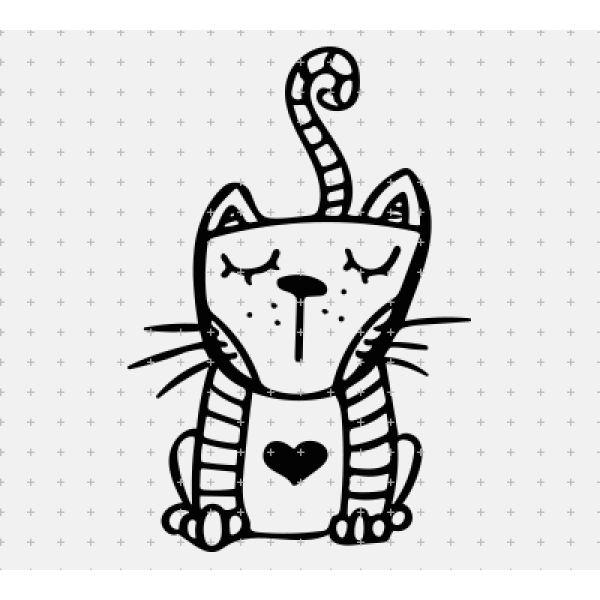Plotterdatei - KITTY-CAT