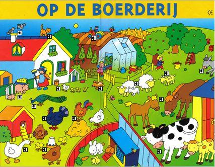 Praatplaat boerderij met geluid Met veel jonge dieren, leuk in de lente ppt. kunnen de kinderen ook op de pc of digibord kijken/luisteren