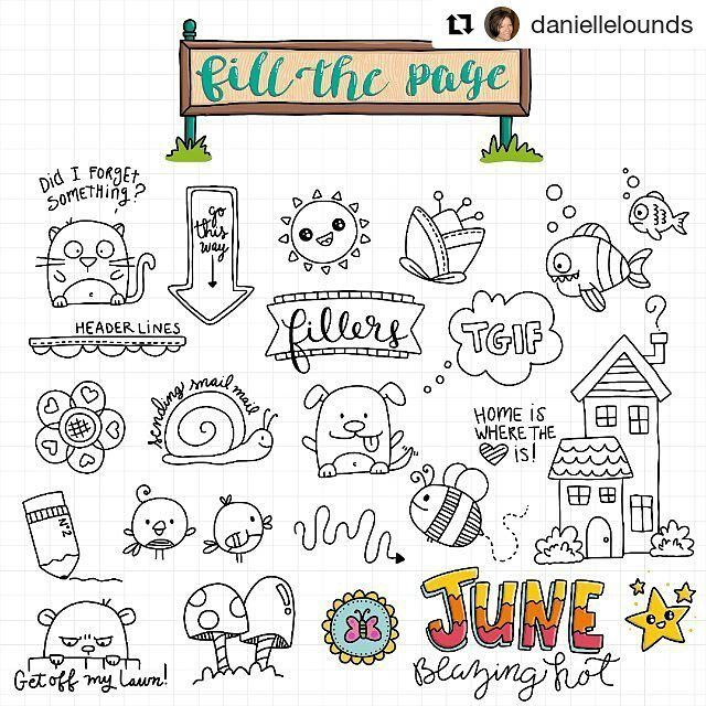 """287 Likes, 1 Comments - Apsi's visual notes & doodles (@therevisionguide) on Instagram: """"#Repost @daniellelounds with @repostapp ・・・ Week 23 of The Visual Vocabulary is all about fillers -…"""""""