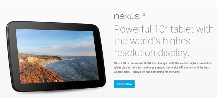 The newest member in the Nexus family is Samsung manufactured 10.1 inch tablet – Nexus 10. After the launch of Nexus 7 in June, it seemed imminent that Google will land a direct competition to Apple iPad. Nexus 10 has some incredible specs and arguably the closest rival to iPad in the market.