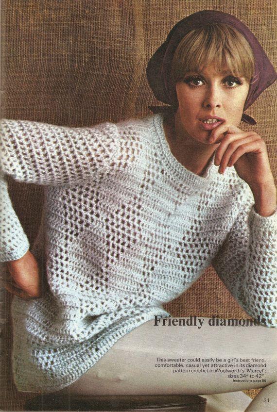 594 best sweater crochet ll images on Pinterest | Blusas tejidas ...