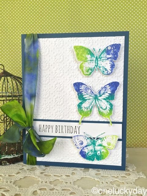 One Lucky Day: Distress DIY Ink Pad using Tim Holtz, Ranger, Idea-ology, Sizzix and Stamper's Anonymous products; Aug 2015