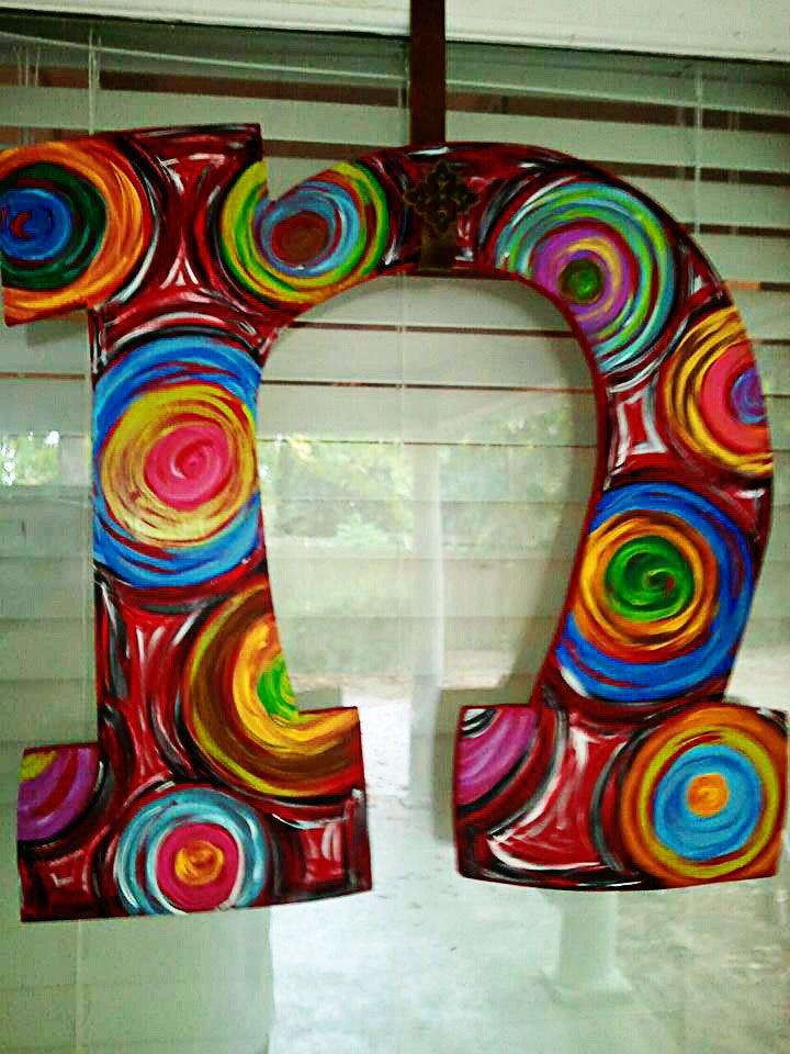 Initial Door Hanger. $40.00 via Etsy. & 155 best Initials images on Pinterest | Wooden door hangers Initial ...