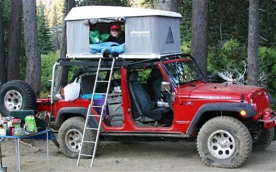 Overland Expo Jeep Wrangler Tents