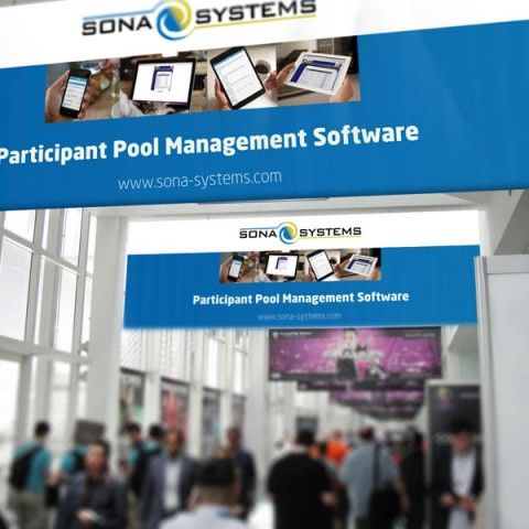 Sona Systems - Tradeshow Banner