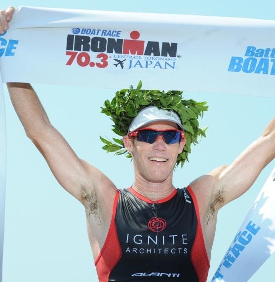New Zealand Ironman legend Cameron Brown