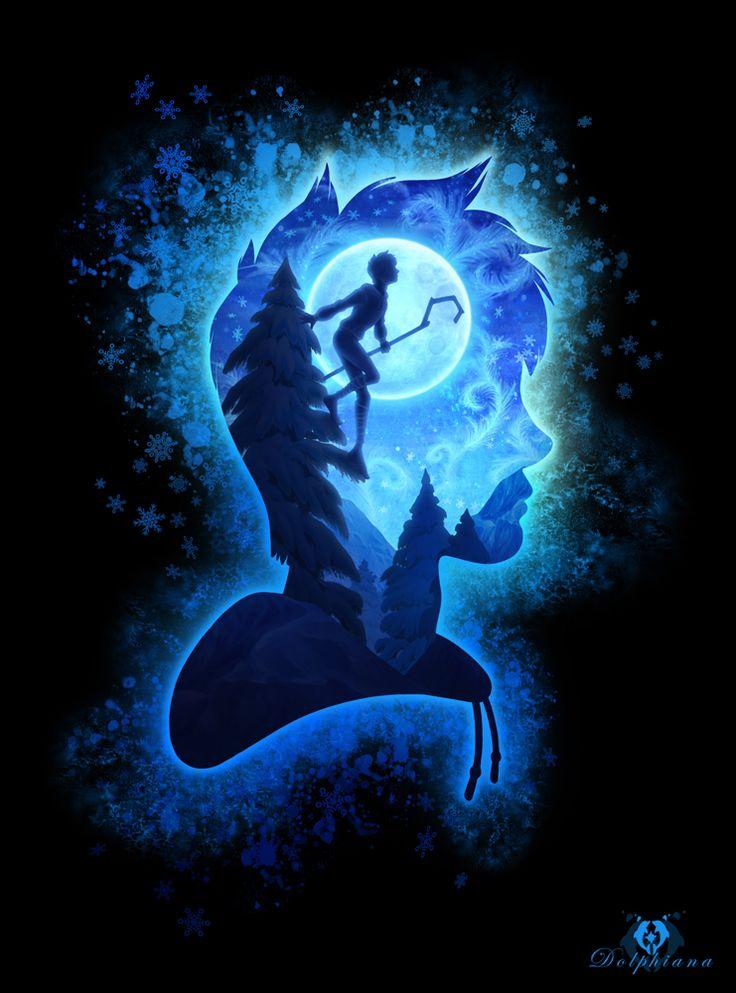 Jack Frost - Silhouette by DolphyDolphiana on DeviantArt