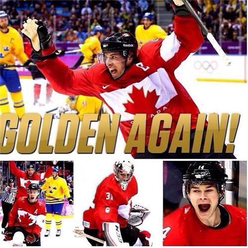 Ya baby! Canada wins Gold!