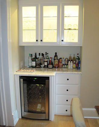 Small Alcove Bar Shelves   Google Search