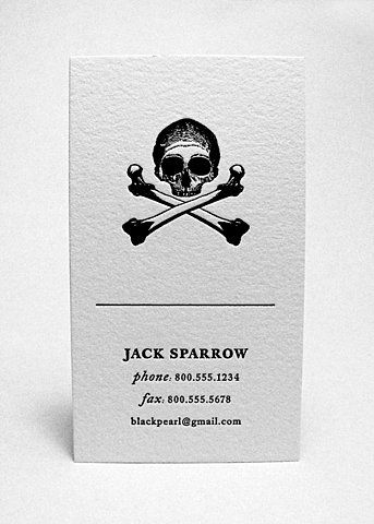 Jack: Graphic Design, Business Cards, Captain Jack Sparrow, Card Design, Jack O'Connell, Sparrow Business, Businesscards, Pirate